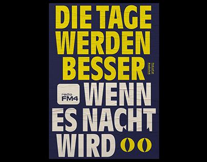 Radio FM4 Poster »Night«