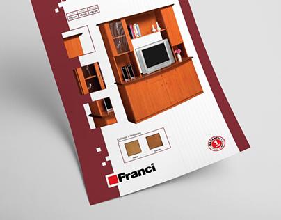 Diseño de hoja de producto FRANCI