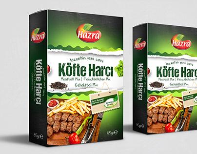 Hazra / Package Design