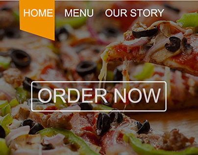 WebSite GOPIZZA One page