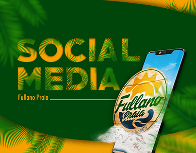 Fullano Praia - Social Media