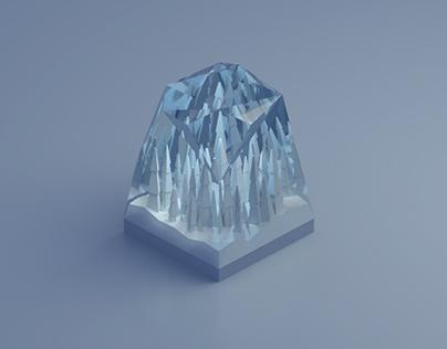 Frozen in Glass