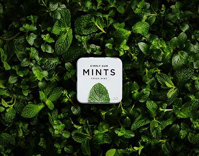 SIMPLY GUM, Mints
