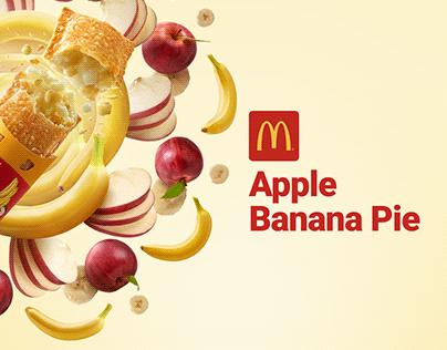 McDonald's Apple Banana Pie
