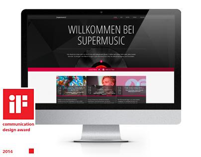 [supermusic] responsive website
