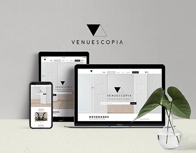 Venuescopia Web design