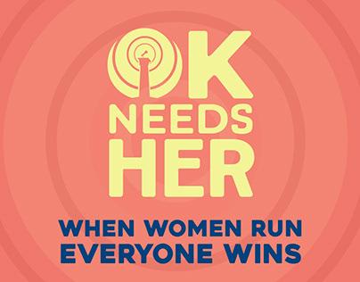 OK Needs Her - Empowering Women to Run