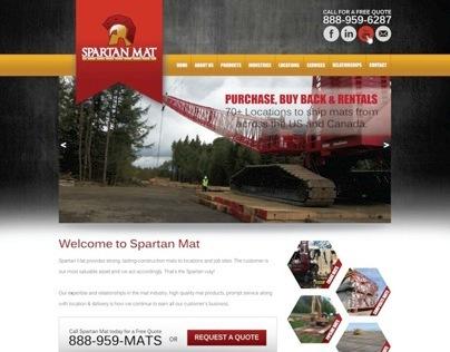 Spartan Mat Website