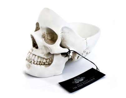 Tidy Skull - an organiser for your essentials