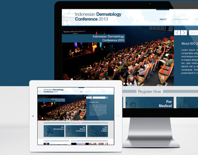 Landing Page - Indonesian Dermatology Conference 2013