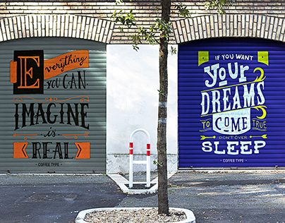 Rolling Shutter - Lettering in city