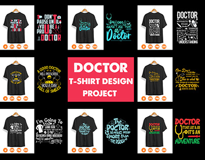Doctor T-Shirt Design Project