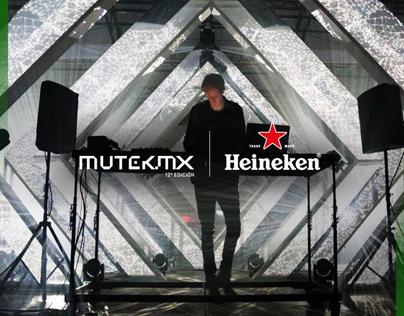 HEINEKEN + MUTEK MX