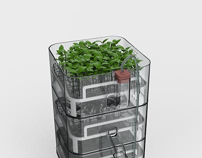 TOTEM: Modular Urban Farming