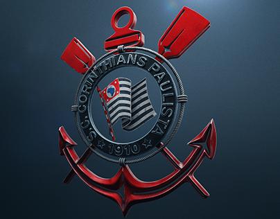 Corinthians - Logo 3d