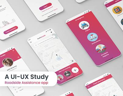 UI-UX Study | SwiftAssist - Roadside Assistance app