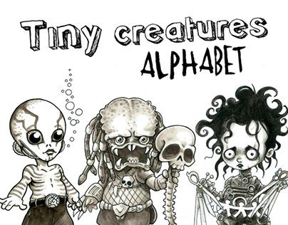 Tiny Creatures Alphabet