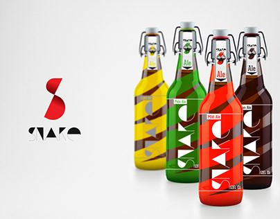 Logo & Label Design ale Snake