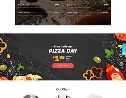 Restoral - Food & Restaurant htmlTemplate