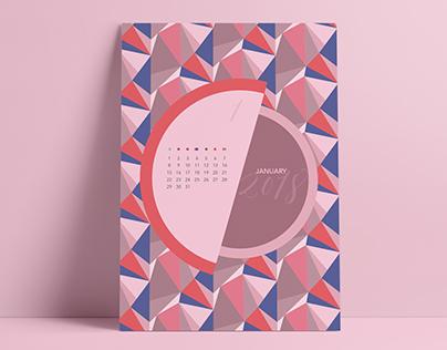 2018 Pattern Calendar