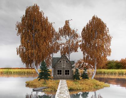 Island house Finland