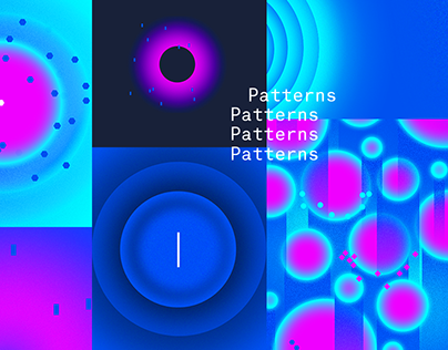 Space. Patterns design.