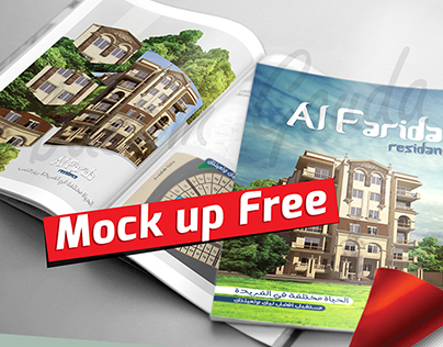 Magazine Brochure Mock up psd Free Download