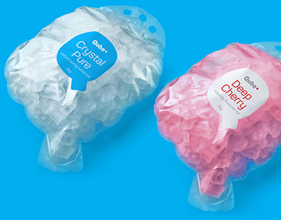 Qube Ice Branding