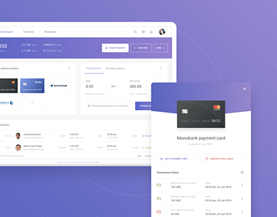 e-Funding - Payment System | UX, UI