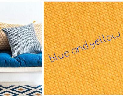 Blue & Yellow - Lifestyle Moodboard