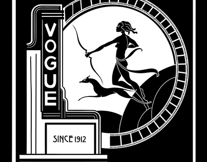 Vogue Theater and Fillmore Concert Hall Tote Bag Design
