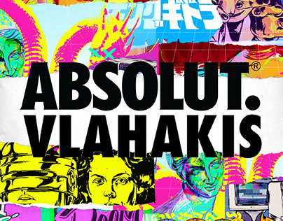 Absolut Vlahakis. Absolut Vodka Art Collaboration