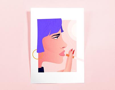 Mélancolie - Illustration