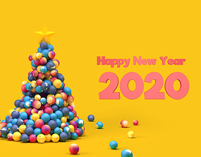 Happy New Year | 3D Project
