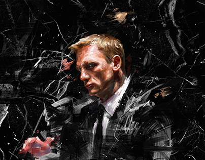 Commercial Illustration for 007 NO TIME TO DIE