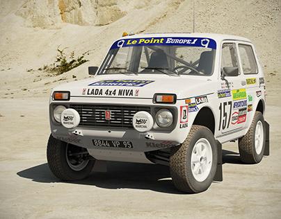 LADA Niva 4x4 Poch Paris-Dakar