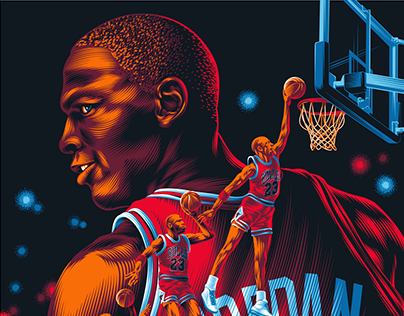 Michael Jordan Poster Tribute