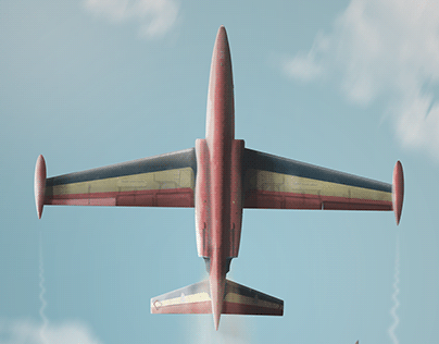 Fouga Magister - The Red Devils