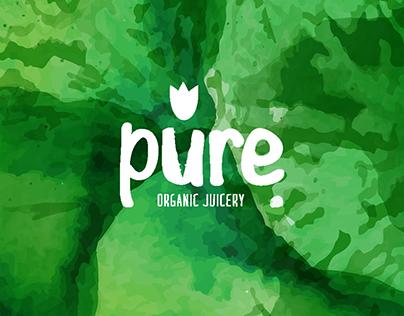 Pure. Organic Juices