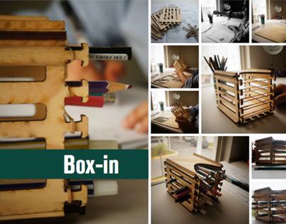 Box-In pencil case