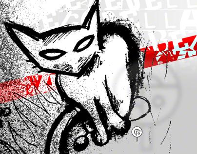 Rough Urban Cat