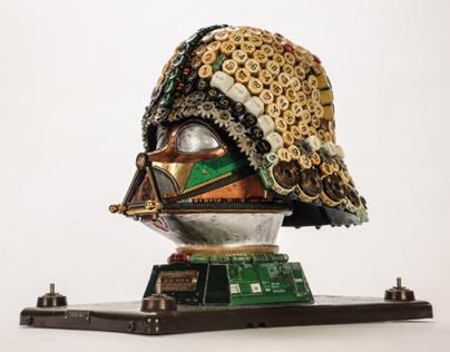 Upcycled Darth Vader #2