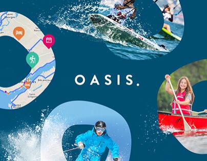 Oasis Agency: Rebrand + Website