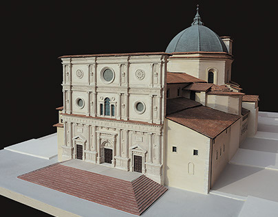 Plastico della Basilica di San Bernardino (L'Aquila)