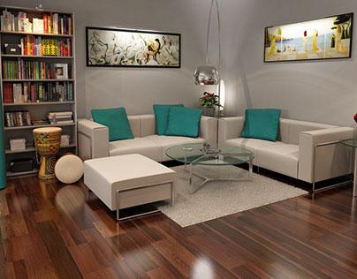 Interiores residenciales.