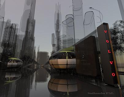 VOLVO VISION 2050 Concept #volvodesigncompetition