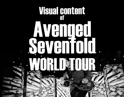 Visual Content of Avenged Sevenfold World Tour