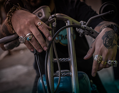 Jewelry & Lifestyle Photography for Chaser MFG