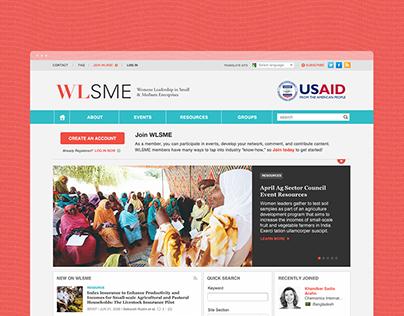 USAID Women's Leadership in Enterprises // Brand + Web