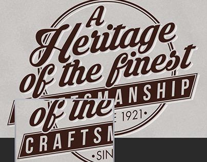 Barber Heritage Banner Design